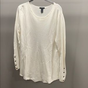 Alfani White Sweater